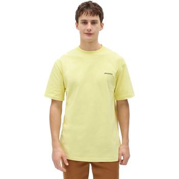 tekstylia Męskie T-shirty z krótkim rękawem Dickies DK0A4X9OB541 Żółty
