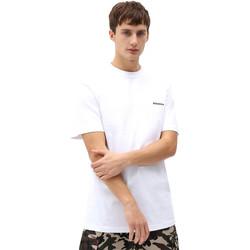 tekstylia Męskie T-shirty z krótkim rękawem Dickies DK0A4X9OWHX1 Biały