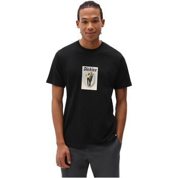 tekstylia Męskie T-shirty z krótkim rękawem Dickies DK0A4X9IBLK1 Czarny