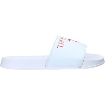 Buty Męskie klapki Trussardi 77A00353-9Y099998 Biały
