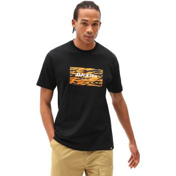 tekstylia Męskie T-shirty z krótkim rękawem Dickies DK0A4X9JBLK1 Czarny