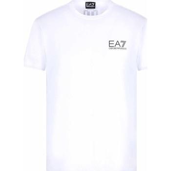 tekstylia Męskie T-shirty z krótkim rękawem Ea7 Emporio Armani 3KPT06 PJ03Z Biały