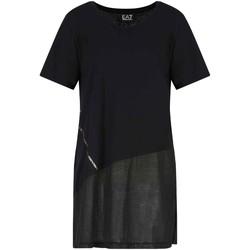 tekstylia Damskie T-shirty z krótkim rękawem Ea7 Emporio Armani 3KTT36 TJ4PZ Czarny
