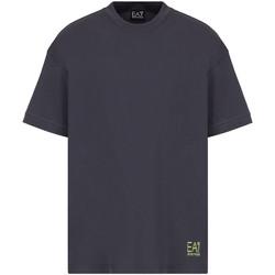 tekstylia Męskie T-shirty z krótkim rękawem Ea7 Emporio Armani 3KPT58 PJ02Z Szary