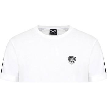 tekstylia Męskie T-shirty z krótkim rękawem Ea7 Emporio Armani 3KPT56 PJ4MZ Biały