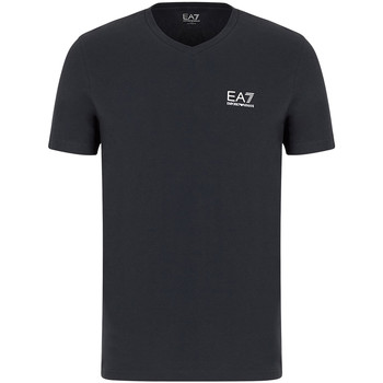 tekstylia Męskie T-shirty z krótkim rękawem Ea7 Emporio Armani 8NPT53 PJM5Z Szary