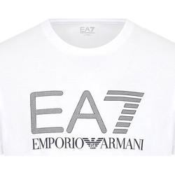 tekstylia Męskie T-shirty z krótkim rękawem Ea7 Emporio Armani 3KPT81 PJM9Z Biały