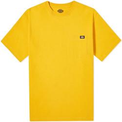 tekstylia Męskie T-shirty z krótkim rękawem Dickies DK0A4TMOB591 Żółty