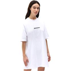 tekstylia Damskie Sukienki krótkie Dickies DK0A4XB8WHX1 Biały