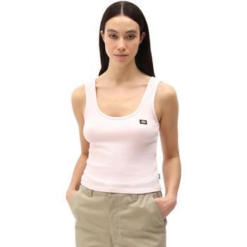 tekstylia Damskie Topy na ramiączkach / T-shirty bez rękawów Dickies DK0A4XB9LPI1 Różowy