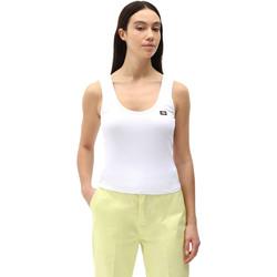 tekstylia Damskie Topy na ramiączkach / T-shirty bez rękawów Dickies DK0A4XB9WHX1 Biały