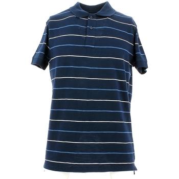 tekstylia Męskie Koszulki polo z krótkim rękawem City Wear THMR5171 Niebieski