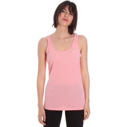 tekstylia Damskie Topy na ramiączkach / T-shirty bez rękawów Diadora 102175885 Różowy