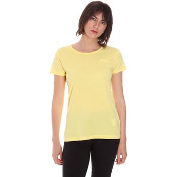 tekstylia Damskie T-shirty z krótkim rękawem Diadora 102175886 Żółty