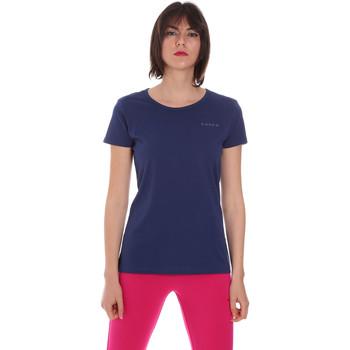 tekstylia Damskie T-shirty z krótkim rękawem Diadora 102175886 Niebieski