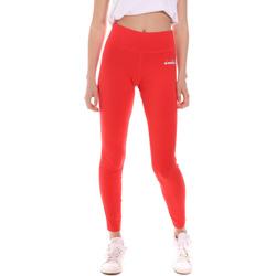 tekstylia Damskie Legginsy Diadora 102175702 Czerwony