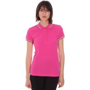 tekstylia Damskie Koszulki polo z krótkim rękawem Diadora 102161015 Różowy