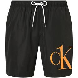 tekstylia Męskie Szorty i Bermudy Calvin Klein Jeans KM0KM00590 Czarny