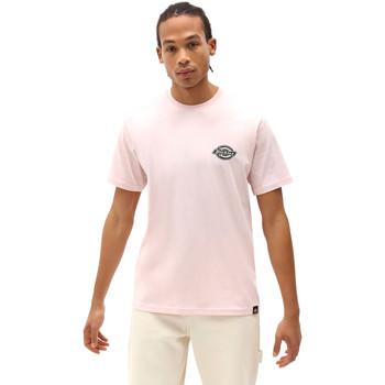 tekstylia Męskie T-shirty z krótkim rękawem Dickies DK0A4XENLPI1 Różowy