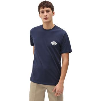 tekstylia Męskie T-shirty z krótkim rękawem Dickies DK0A4XENNV01 Niebieski