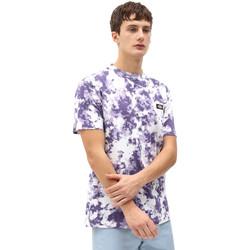 tekstylia Męskie T-shirty z krótkim rękawem Dickies DK0A4X9PB651 Fioletowy