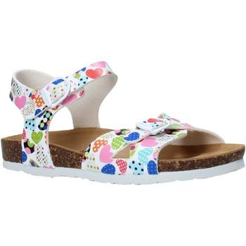 Buty Dziewczynka Sandały Bionatura 22B 1005 Niebieski