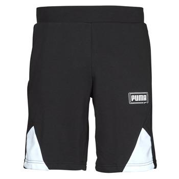 tekstylia Męskie Szorty i Bermudy Puma RBL SHORTS Czarny / Biały