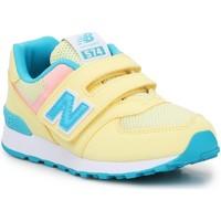 Buty Dziecko Sandały New Balance Buty lifestylowe  PV574BYS żółty, niebieski, biały