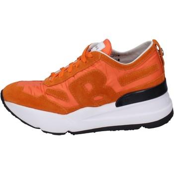 Buty Damskie Trampki niskie Rucoline BH360 Pomarańczowy