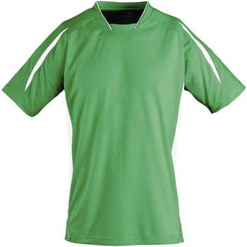 tekstylia Dziecko T-shirty z krótkim rękawem Sols Maracana - CAMISETA NIÑO MANGA CORTA Verde
