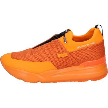 Buty Męskie Tenisówki Rucoline BH382 Pomarańczowy