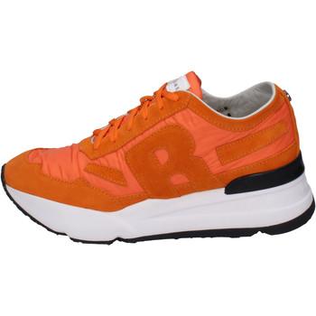 Buty Męskie Trampki niskie Rucoline BH388 Pomarańczowy
