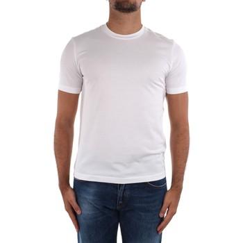 tekstylia Męskie T-shirty z krótkim rękawem Cruciani CUJOSB G30 Biały