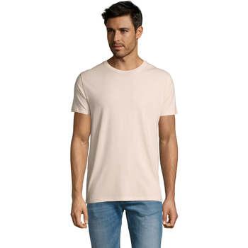 tekstylia Męskie T-shirty z krótkim rękawem Sols Martin camiseta de hombre Rosa