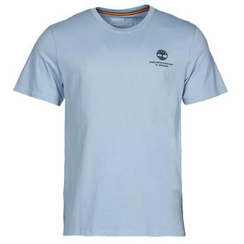 tekstylia Męskie T-shirty z krótkim rękawem Timberland CC ST TEE Niebieski
