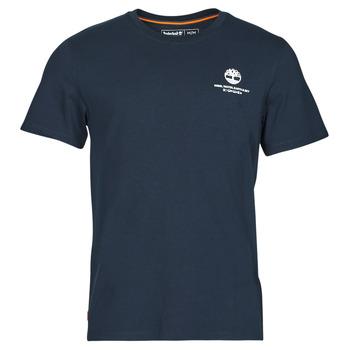 tekstylia Męskie T-shirty z krótkim rękawem Timberland CC ST TEE Marine