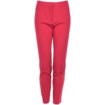 tekstylia Damskie Spodnie Pinko  Czerwony