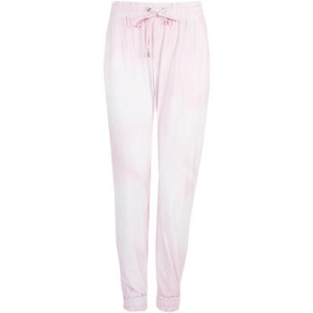 tekstylia Damskie Spodnie dresowe Pinko  Różowy