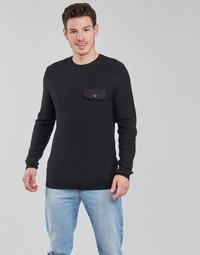 tekstylia Męskie Swetry Jack & Jones JCOTARBEN Czarny
