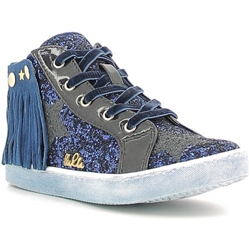 Buty Dziewczynka Trampki wysokie Lulu LS150014S Niebieski