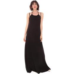 tekstylia Damskie Sukienki długie Trussardi 56D00519-1T005183 Czarny