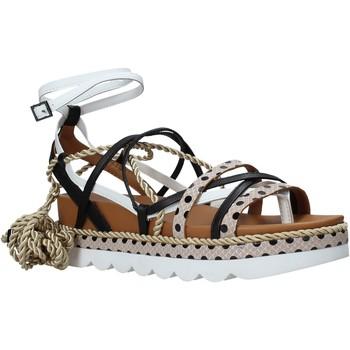 Buty Damskie Sandały Manila Grace S620DU Czarny