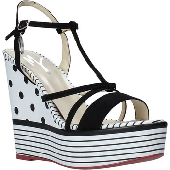 Buty Damskie Sandały Manila Grace S605LP Czarny