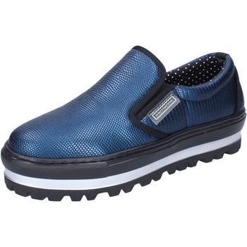 Buty Damskie Tenisówki Fornarina BH415 Niebieski