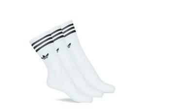 Bielizna Skarpetki wysokie adidas Originals SOLID CREW SOCK X3 Biały