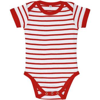 tekstylia Dziecko Komplet Sols Body bebé a rayas Rojo
