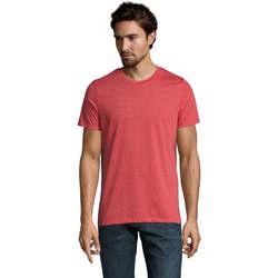 tekstylia Męskie T-shirty z krótkim rękawem Sols Mixed Men camiseta hombre Rojo