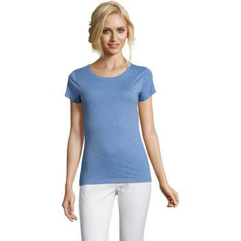 tekstylia Damskie T-shirty z krótkim rękawem Sols Mixed Women camiseta mujer Azul