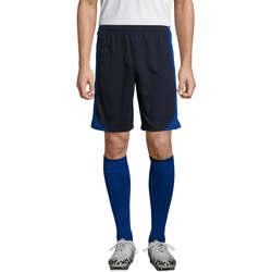 tekstylia Męskie Krótkie spodnie Sols OLIMPICO pantalon corto hombre Azul