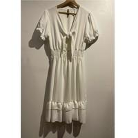 tekstylia Damskie Sukienki krótkie Fashion brands 9176-BLANC Biały